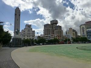 P1040268 - Plaza de Espana in Santa Cruz
